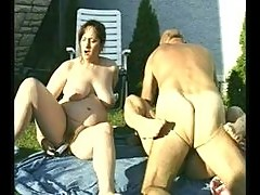Granny and fatty getting fucked