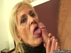 Old prostitute is picked up and fucked by ...