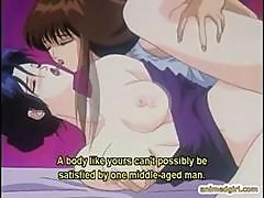 Hentai Babe Having Hard Sex With Shemale Anime