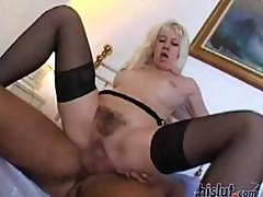 Skinny Blonde Housewife And Her Hunky Husband Have A Night Of Passionate Sex In The Bedroom