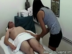 Ardent sexy asian massage