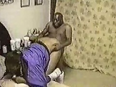 Black midget having sex