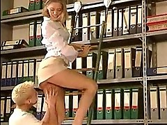 Secretary Slut Gets An Office Anal Banging