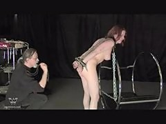 Chained Spanked and Burnt