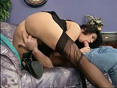 Black Stocking Mature