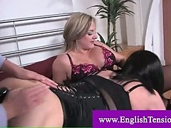 Slut sissy obliged to ride a cock