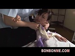 jap office lady hard fucked by masseur