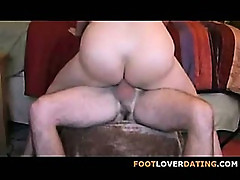 Mature Foot & Anal Fetish - Annabelle flowers (part 2)