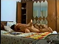 Turkish Couple Passionate on Beach & Hotel Room