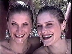 The twins - Sandrine & Christelle in Ibiza