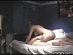 Naughty Blonde Loves Fucking in an Amateur Video