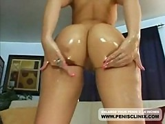 Pretty girls alexis and aline thresome anal