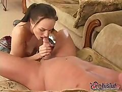 Cytherea Gets Her Skirt Off And Fucks And Sucks For Joy Juice