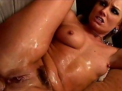 Flower Tucci gets All Holes Fucked