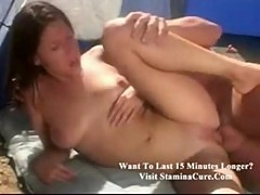 Haley paige camping sex