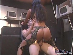 Nikita Denise has had a thing for militar ...