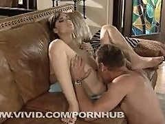 Sasha Grey Takes It Doggy Style After Sucking Dick