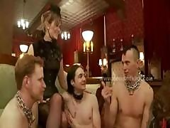 Mistress Queens Gather In Group Female Domination Spanking Whiping And Extreme Fuck