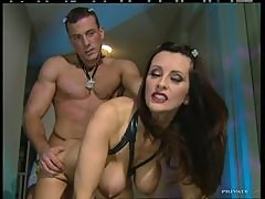 Stunning Brunette Dominatrix Fucked In The Ass By Her Slave Baby