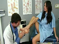 Kortney Kane Foot job Cum on
