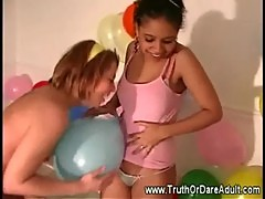 Amateur all girls fun dare