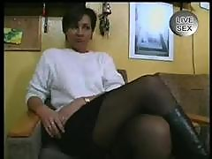 Mature German Woman Fucking Herself